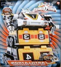 Power Rangers Turbo Artillatron Transport Deluxe Figure
