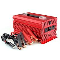BESTEK 3 AC Outlets 2000W Power Inverter with Car Battery