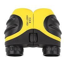 Luwint 8 X 21 Yellow Kids Binoculars for Bird Watching,
