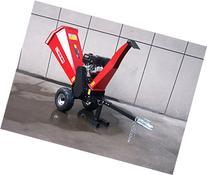 15HP Gasoline Powered Wood Chipper Shredder Mulcher with