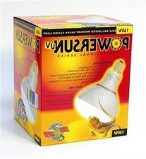 Zoo Med PowerSun UV Mercury Vapor Lamp 160 Watts