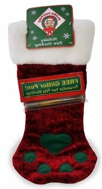 Outward Hound Kyjen  PP01784  Soft & Shiny Paw Stocking for
