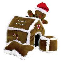 Outward Hound Kyjen  PP01797 Gingerbread House Dog Toys