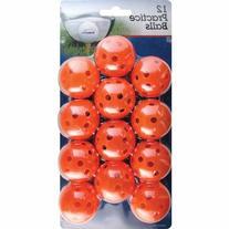 Orlimar Practice 12-Pack Balls Holes
