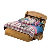 South Shore Prairie Collection Twin Bed Set, Pine