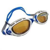 69375226ccc Zoggs Predator Flex Polarized White Blue Bronze Swimming