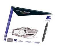 Prismacolor Premier Double-Ended Art Markers, Fine and