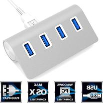Sabrent Premium 4 Port Aluminum USB 3.0 Hub  for iMac,