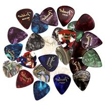 Fender Premium Picks Sampler - 24 Pack Includes Thin, Medium