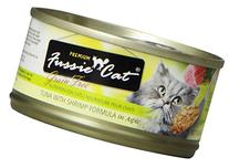 Fussie Cat Premium Tuna with Shrimp Canned Cat Food - 24 - 2