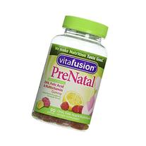 Vitafusion Prenatal Gummy Vitamins - Natural Berry, Lemon &