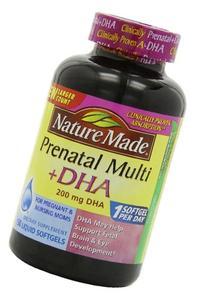 Nature Made Prenatal Multi + Dha, 200mg