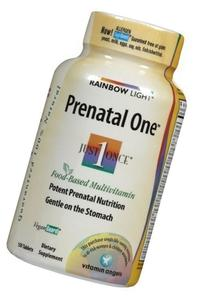 RAINBOW LIGHT PRENATAL ONE MULTIVITAMIN, 150 TAB