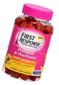 First Response Prenatal and Postnatal Multivitamin Gummy, 90