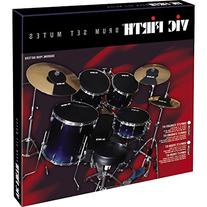 Vic Firth Drum Mute Prepack with Mutes Sized 12, 13, 14, 16