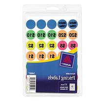 Avery Preprinted Removable Garage Sale Labels,  0.75 Inches