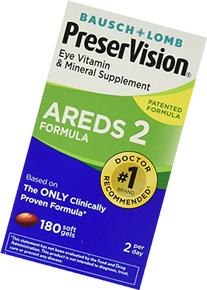 Bausch and Lomb PreserVision AREDS 2 Formula Eye Vitamin and