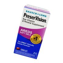 Bausch & Lomb PreserVision Tablets 120 Tablets