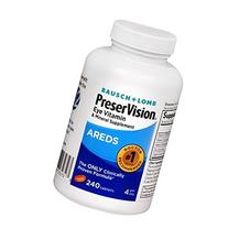 Bausch & Lomb PreserVision Eye Vitamin & Mineral Supplement