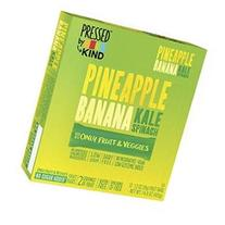 Pressed by Kind Bars Pineapple Banana Kale Spinach, 1.2 oz,