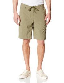 Volcom Men's Pressto Cargo Hybrid Short, Olive, 34