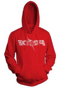 UFC PRIDE Logo Pullover Hoodie, 3X, Red