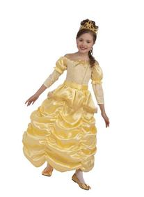 Beautiful Princess Costume, Gold - 67571 Child Medium 8-10