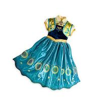 Z.D Girls Princess Dress Anna Traveling Classic Costume