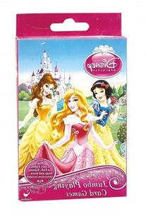Disney Princess Jumbo Playing Cards - Oversized Kids Card