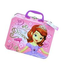 Disney Princess Sofia the First Metal Tin Lunch Box Storage