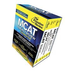 The Princeton Review MCAT Subject Review Complete Set: New