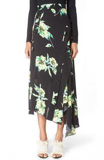 Women's Proenza Schouler Print Asymmetric Hem Skirt, Size 6