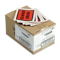 * Full-Print Self-Adhesive Packing List Envelope, Orange, 5