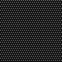 The Gift Wrap Company Printed Gift Tissue, Optic Polka Dot