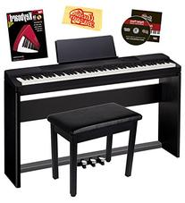 Casio Privia PX-150 88-Key Digital Piano Bundle with Casio