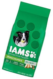 Iams PROACTIVE HEALTH Adult Minichunks Dry Dog Food 3.3 Pounds