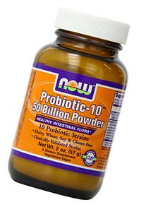 Probiotic-10 50 Billion Now Foods 2 oz Powder