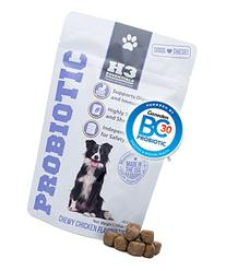 H3 Essentials – Probiotics for Dogs – for Immune and