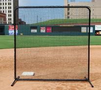 Trigon Sports ProCage Black Series Fungo Screen, 7 x 7-Feet