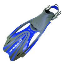 U.S. Divers Proflex FX Scuba Dive Fins - Blue, Size - Large