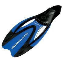 U.S. Divers Proflex II Diving Fins ,metallic blue