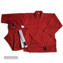 ProForce Gladiator 7.5oz Karate Gi / Uniform - Red - Size 4