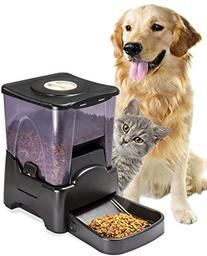OxGord Automatic Electronic Timer Programmable Dog Feeder