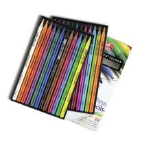 Koh-I-Noor Progresso 24 Woodless Color Pencil Set