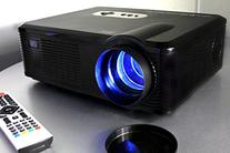 720P LED LCD Video Projector, Fugetek FG-857, Home Theater
