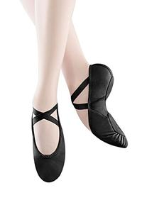 Bloch Women's Prolite II Hybrid Ballet Slipper,Black,4 C US