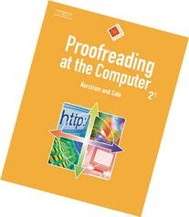 Proofreading at the Computer - With CD