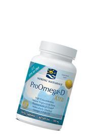 Nordic Naturals - ProOmega-D Xtra 1000 mg 60 softgels