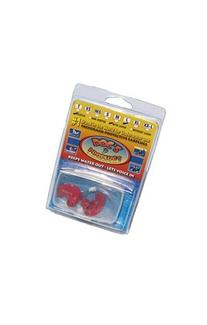 Doc's ProPlugs - Preformed Protective Vented Earplugs  Red