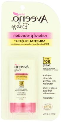 Aveeno Natural Protection Spf50+Baby Mineral Stick 0.5oz